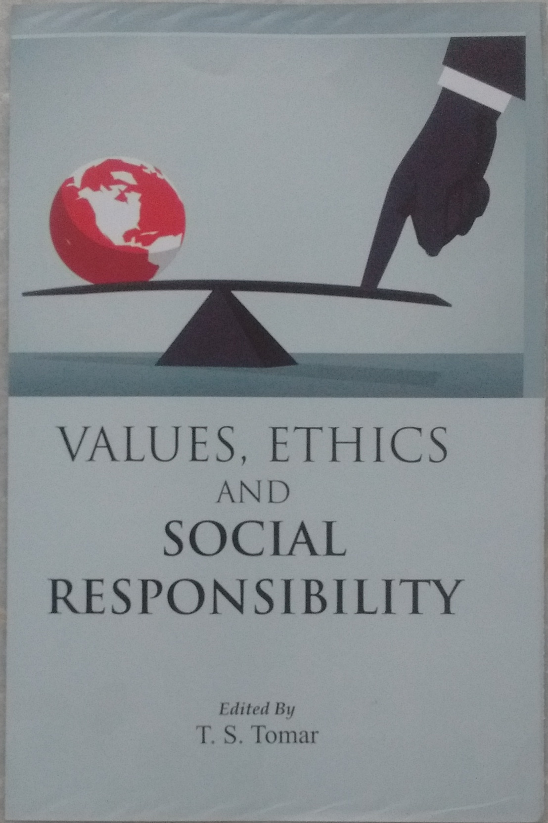 Values, Ethics and Social Responsibility - Indian books and